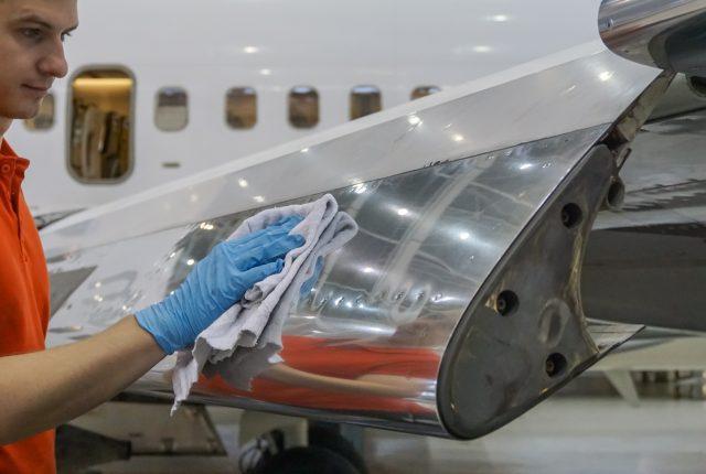 Aircraft Aluminum Polishing